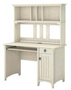 Computer Desk With Hutch In Antique White id 3180281