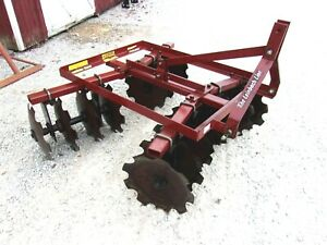 Used 6 Ft 3 Pt Lift Disc Harrow free 1000 Mile Delivery From Ky