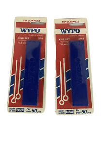Wypo King Set Sp 4 Tip Cleaner No 6 Thru 26 Cleaners Torch Tip Orifice And More