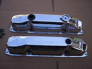 Direct Connection Chrome Valve Covers 440 383 Rare