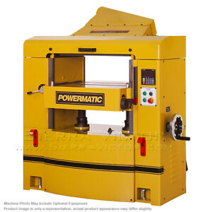 Powermatic Wp2510 Planer 15hp 3ph 230 460v Helical Head 1791303