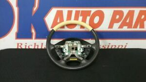 02 Ford Thunderbird Steering Wheel Yellow And Black Slight Chips