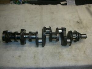 Corvair 60 63 Crankshaft Passed Wet Mag 010 010 Reground Oil Holes Champhe
