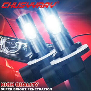 881 886 889 894 896 898 Led Fog Lights Bulbs Kit Upgrade 160w 9600lm 6000k White