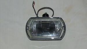 Lucas Square 8 Fog Light Lamp Black Bucket