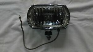 Lucas Square 8 Fog Light Lamp Black Plastic Bucket