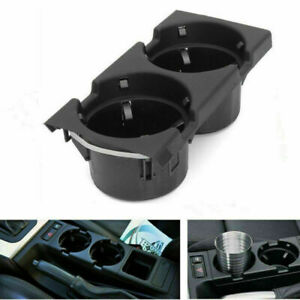 For E46 3series 1999 2006 Front Center Console Drink Cup Holder Storing Box
