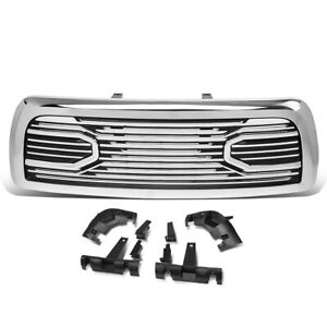 For 2010 2018 Dodge Ram 2500 3500 Truck Badgeless Horn Style Front Bumper Grille