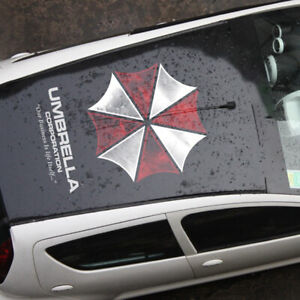 Car Hood Sticker Resident Evil Umbrella Corp Roof Decals Vinyl Truck Van Decor