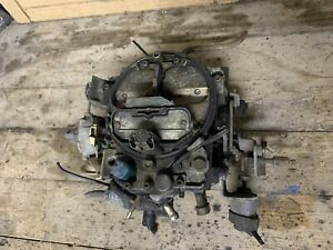 Chevy Gm 4 barrel Rochester Carburetor 305 350 Engine Oem 1986 1990