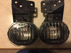 Oem 22652888 22652889 Fog Lights Lamps Left Right Pair Chevy Mailibu 97 03