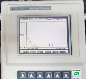 Diagnostic Instruments Di2200 Real Time Fft Analyzer