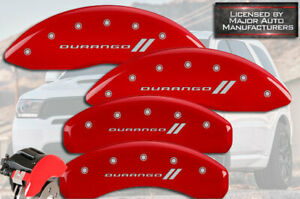 2011 2020 Dodge durango Front Rear Red Mgp Brake Disc Caliper Covers 4pc