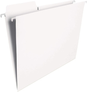 Smead Fastab Hanging File Folder 1 3 cut Built in Tab Letter Size White 20 P