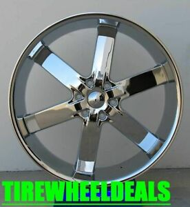 26 Inch U2 55 Wheels Rims Tires Fit 6 X 139 Escalade Armada Silverado Sierra