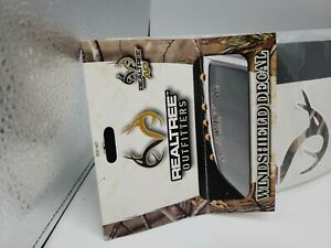 Realtree Outfitters Windshield Decal 38 In Long Camo