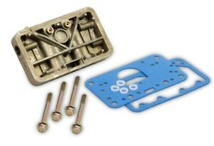 Holley 34 13 4160 Secondary Metering Block Conversion Kit For Center Hung Float