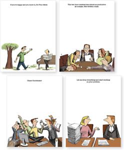 Funny Notepads paper Pads funny Office Gift Desk Accessories These Cute Notep