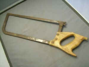 Antique Butchers Meat And Bone Saw 14 1 2 Blade