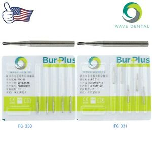 Wave Dental 1 6mm Pear Carbide Burs Friction Grip Bur Plus Fg 330 331 Uk Prima