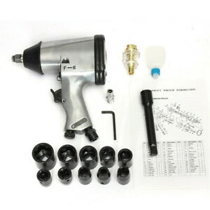 1 2 Inch Drive Air Pneumatic Impact Wrench Tool 7000r Min Extension Bar
