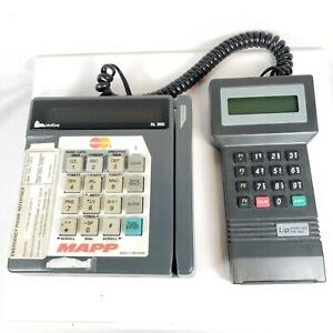 Veriphone Xl 300 Mapp Credit Card Terminal W cable To Lip Nurit 202 Pin Pad
