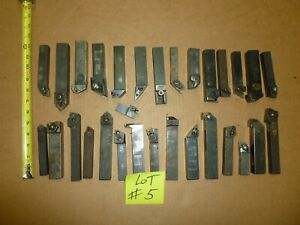 Cnc Lathe Tool Boring Bars Holders Lot Of 30 As Shown On Picture