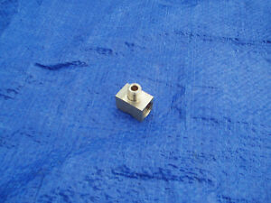 Rare 1959 Cadillac Tri Power Nos Fuel Filter Tee Fitting 1960 390 3x2 Tripower