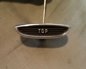 New Chrome 1958 Edsel Convertible Top Switch Handle Pull Rag Top Citation Pacer
