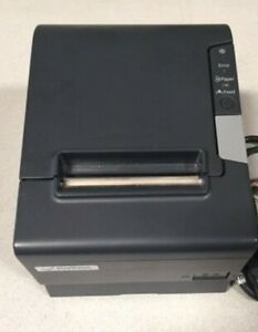 Epson Tm t88v Pos Receipt Printer Powered Usb Interface With Cable