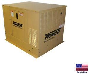 Standby Generator Commercial residential Ng Lp 100n1 20 000 Watt 20 Kw