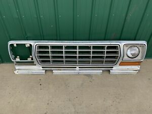 Ford Truck Bronco Grille Assembly Oem 1978