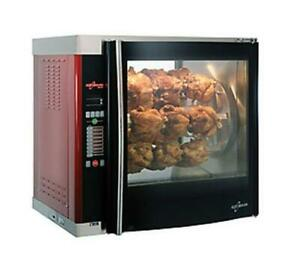 Alto shaam Alto shaam Counter Top Electric Rotisserie Oven Glass Door