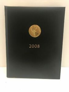 New Unused 2008 American Express Leather Appointment Book Planner No Initials