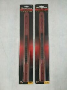 2 Pk Of Gearwrench 83101d 3 8 Drive Slide Socket Rails Red