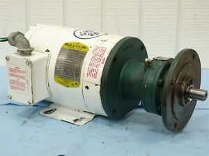Baldor Cwdm3538 Series F794 Electric Motor W sm cyclo Cnvx 4085y 11 Gear Reducer