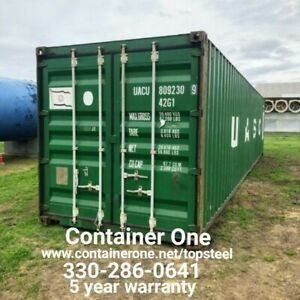 20 And 40 Steel Conex Storage Shipping Containers In Nashville