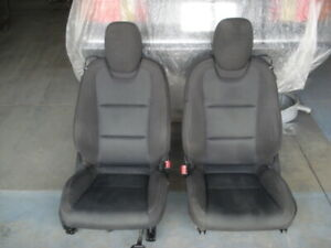 2010 2015 Camaro Black Cloth Seat Set Front Rear Airbag Power Driver Used Gm
