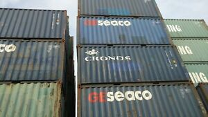 20ft Standard Shipping Container Conex Box Storage You Pick Up In Chicago Wwt