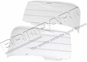 Land Rover Discovery 2 1999 2002 Front Clear Acrylic Headlamp Guards Stc50064