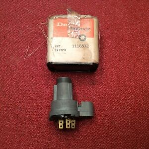 Nos Gm Oem 1960 Oldsmobile Ignition Switch Delco Remy 11116572