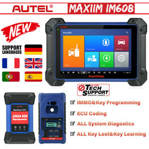Autel Im608 Key Programming Diagnostic Scan Immobilizer Ecu Coding Reset Tool