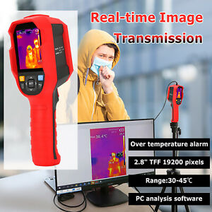 Uni t Thermometer Human Body Infrared Thermal Imager Led Temperature Camera 165k