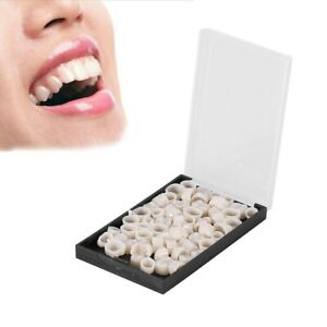 Dental Oral Temporary Teeth Crown Cap Tooth Synthetic Resin 50 Pcs box