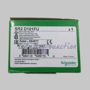 Schneider New Sr2d101fu Compact Smart Relay Zelio Logic 100 To 240 V Ac