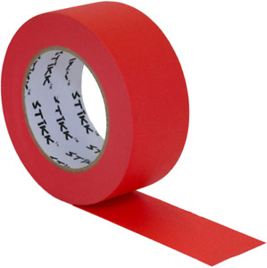2 Inch X 60yd Stikk Red Painters Tape 14 Day Easy Removal Trim Edge Finishing D