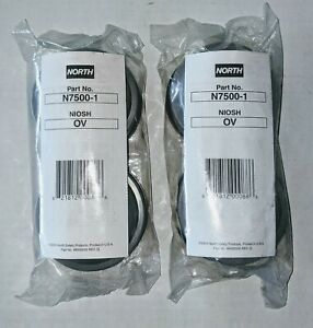North N7500 1 Ov Respirator Cartridge 2pk New Lot Of 2