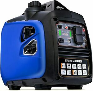 Hike Crew 2 250 w Super Quiet Portable Gas Powered Inverter Generator With Cover
