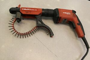 Hilti Sd 4500 Screw Gun With Smi 55 Autofeed Drywall Attachment