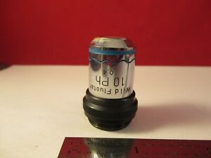 Wild Swiss Objective Phase Ph 10x Optics Microscope Part As Pictured 1e b 59